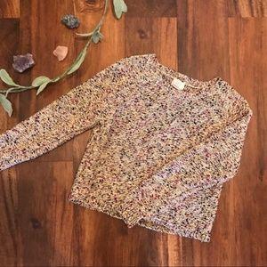 Andrea Jovine   Multi-color Crewneck Sweater
